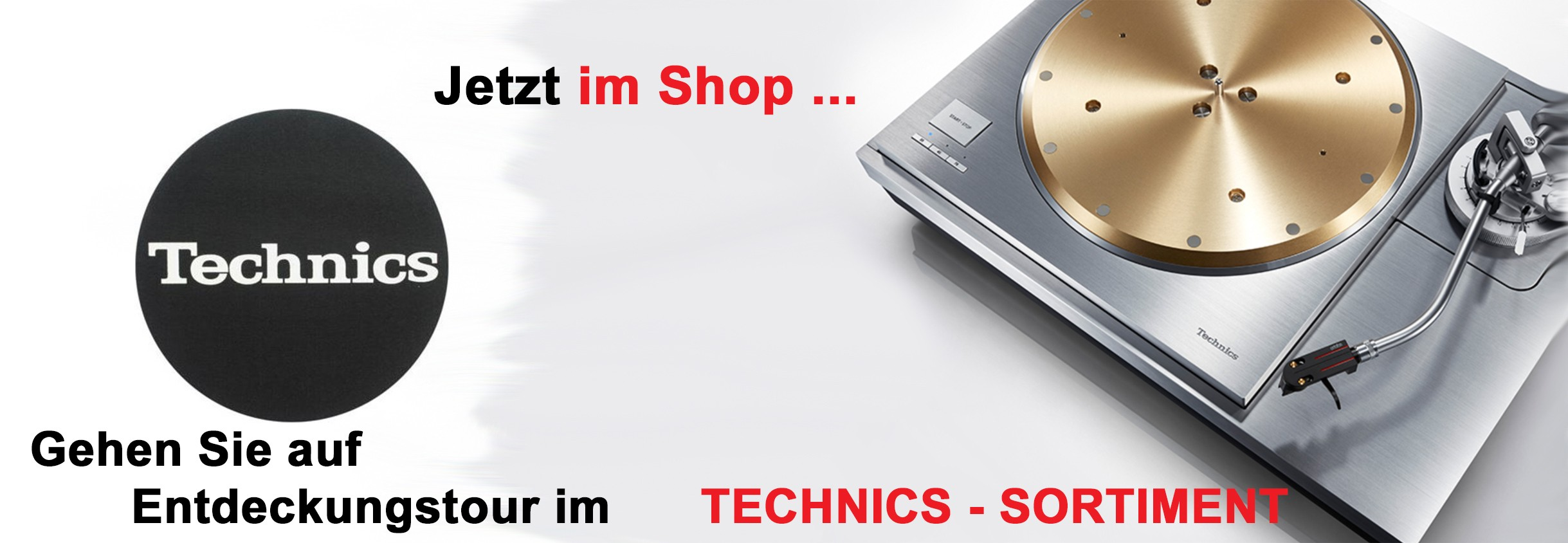 Technics im Shop