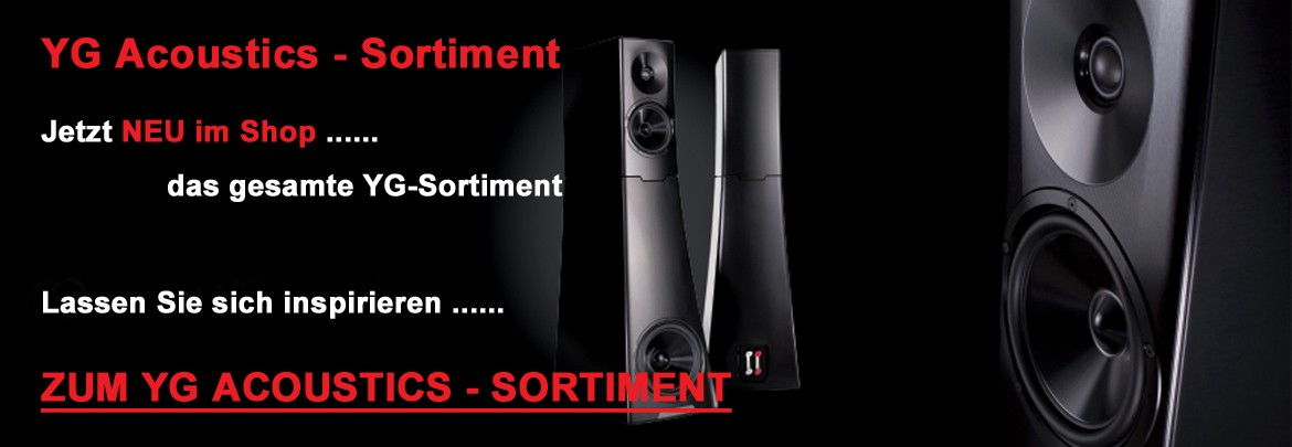 YG Acoustics - Sortiment